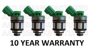 nissan altima 2013 warranty 10 year warranty genuine set of 4 jecs fuel injectors for nissan