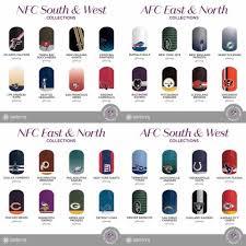 nfl nails football nails team nails jamberry nail art