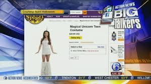 spirit halloween online video are kids halloween costumes becoming too 6abc com