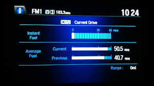 2013 honda accord hit 50mpg u0026 refuel 732miles review fuel