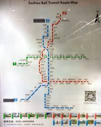 Suzhou China Map by Urbanrail Net U003e Asia U003e China U003e Suzhou Metro Subway