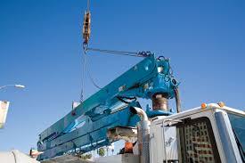 28z meter truck mounted concrete boom pump boom pumps