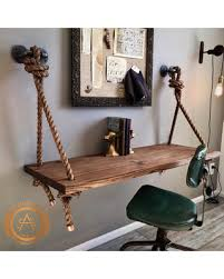 pipe desk with shelves here s a great deal on pipe desk suspended wood wall mounted