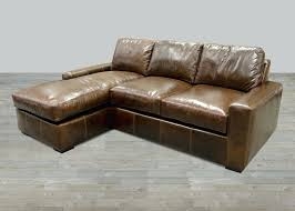 Small Brown Leather Corner Sofa Articles With Corner Chaise Leather Sofa Tag Various Chaise