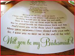 will you be my bridesmaid poem will you be my bridesmaid letter 173575 to be poems