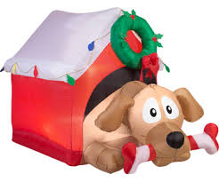 christmas inflatable christmas decorations front yard from