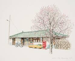 me kyeoung lee paint korea shop sketch books pinterest