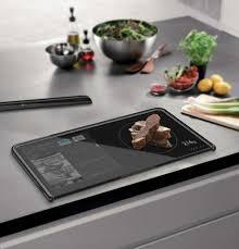 tablette cuisine la cuisine du futur avec une tablette