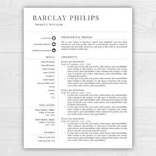 professional resume resume template resume template instant