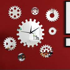 compare prices on clock wall design online shopping buy low price