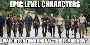Rick Grimes Memes - image tagged in the walking dead walking dead rick grimes zombies