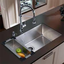 Stainless Faucets Kitchen Faucets For Kitchen Sink Kitchen Sink And Faucet Combo Home Depot