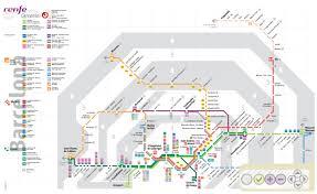 The L Train Map Spain Madrid Barcelona Train Rail Maps