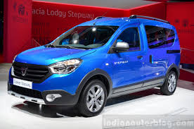renault lodgy modified dacia dokker stepway paris live