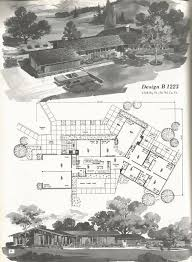 Mid Century Modern Ranch House Plans 141 Best Ranch Images On Pinterest Dream House Plans House