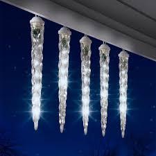 shooting icicle lights lights decoration