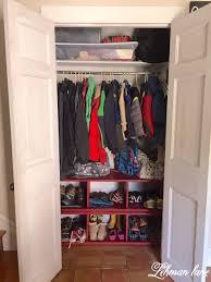 diy closet shoe cubby lehman lane