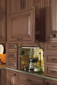kitchen cabinet appliance garage this appliance garage cabinet conceals small appliances while also