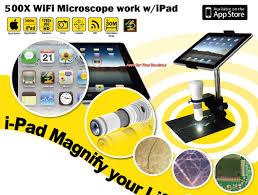 wireless wifi usb digital microscope for iphone pc oasis