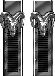 Dodge Ram Decals - dodge ram 3d bed stripes dodge ram split bed stripes dodge ram