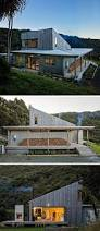 home exterior design studio this new rural house sits on a hillside in new zealand surrounded