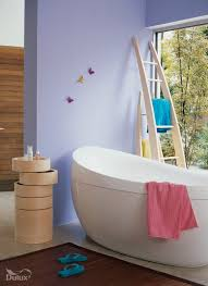 Purple Bedroom Feature Wall - the modern home decor august purple and blue wall paint ideas