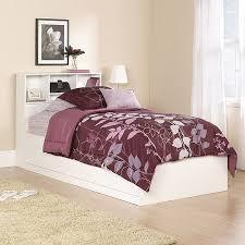 Walmart Bed Frame With Storage Mainstays Storage Bed Soft White Walmart