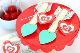 string cheese cupid arrows printable bullseye valentine
