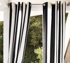 White Outdoor Curtain Panels Gazebo Solid Grommet Top Indoor Outdoor Extra Long Curtain Panel