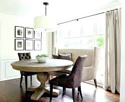 dining room with banquette seating round table with bench seating beautiful kitchen table with bench