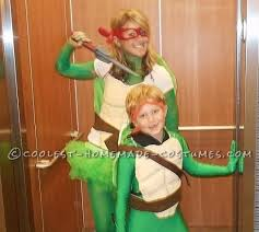 Turtle Halloween Costume Coolest Mom Son Ninja Turtles Costumes Turtle Costumes