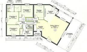 plan maison 5 chambres gratuit plan maison 100m2 beautiful pin plan de maison plain pied m