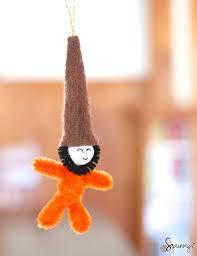 felt gnome ornaments a simple tutorial spunnys