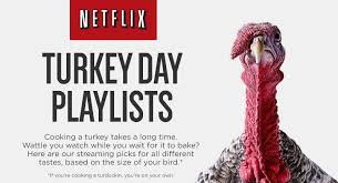 netflix releases a thanksgiving infographic complete with