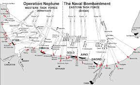 D Day Map Battleship Texas Bb35 Maps D Day 6 June 1944