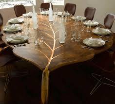 leaf shaped dining table set pictrends designs u0026 home decoration