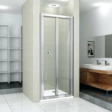Shower Bifold Door Bi Fold Shower Doors S Frameless Bifold Door 900mm Glass