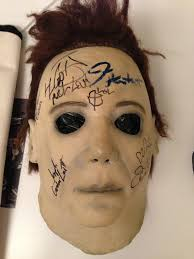 charitybuzz jamie lee curtis u0027 authentic michael myers mask used