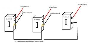two electrical sources three switches doityourself com
