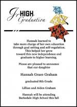 8th grade graduation invitations 8th grade graduation invitations plumegiant