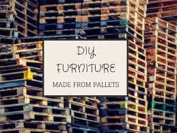 Pallets Patio Furniture 9 Diy Pallet Furniture Projects
