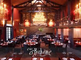 Luxury Restaurant Design - la bohème 8400 santa monica blvd west hollywood