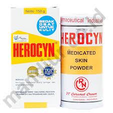 Bedak Gatal bedak herocyn