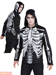 mens skeleton tank top costume for halloween fancy dress ebay