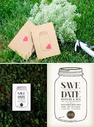 Mason Jar Ideas For Weddings Mason Jar Wedding Invitation Ideas 001