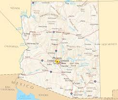 Chandler Arizona Map by Arizonapoliticalmap Png