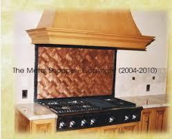 The Metal Shoppe Custom Metal Fabrication And Coppersmithing - Custom backsplash