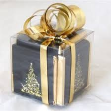 pre wrapped christmas boxes christmas favours christmas table decorations christmas gifts