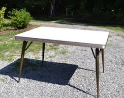 Vintage Formica Kitchen Table And Chairs by Retro Table Legs Etsy