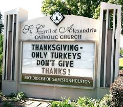 church signs st cyril of alexandria houston tx